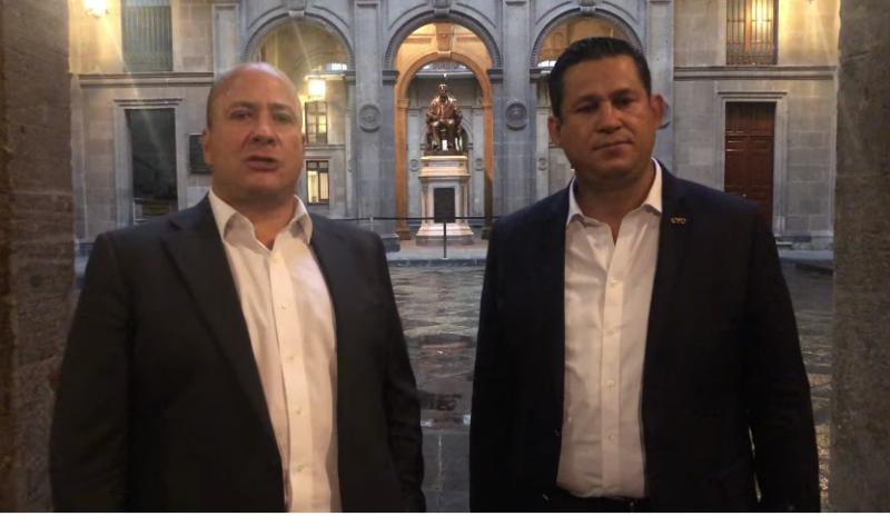 gobernadores Jalisco Guanajuato