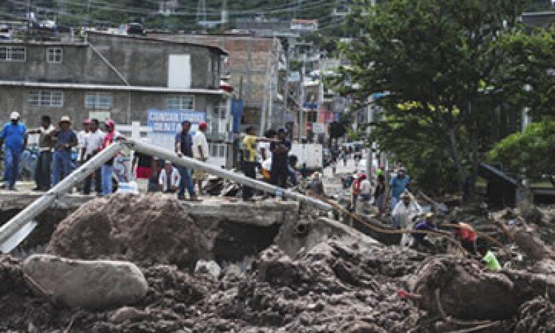 Las lluvias han provocado la muerte de 101 personas, de acuerdo cifras del Gobierno federal. (Foto: Cuartoscuro)
