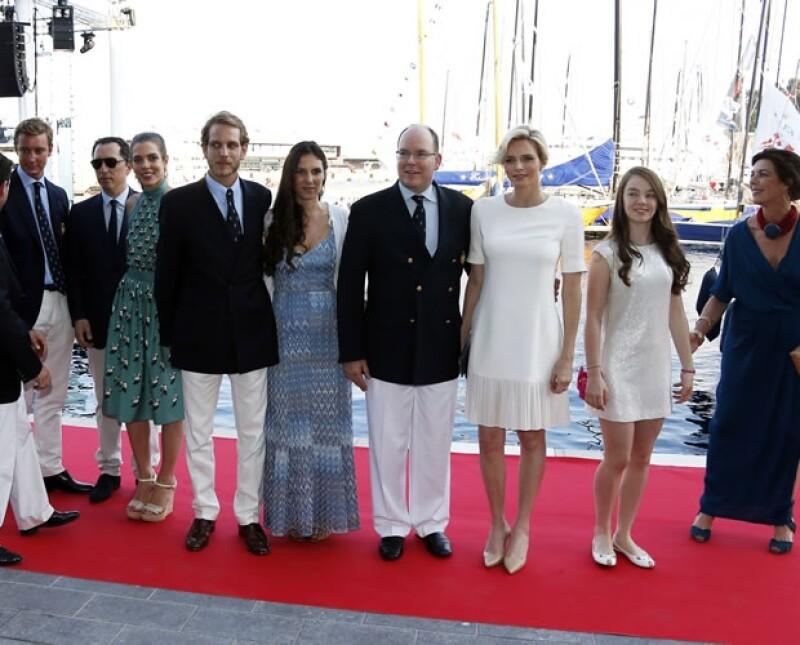 Bien dicen que un bebé une a la familia y el caso de la Familia Real de Mónaco no es la excepción. Hoy los Grimaldi están más unidos que nunca en espera de un nuevo heredero.