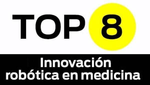 Top en innovacion robotica en medicina