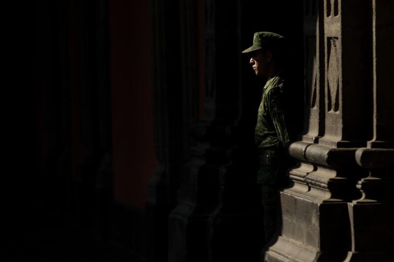Vigilancia Palacio Militar