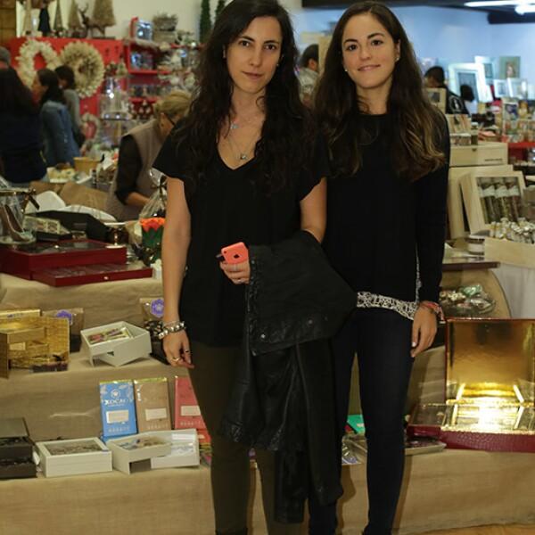 Mónica Arzoz y María Andrea Patrón