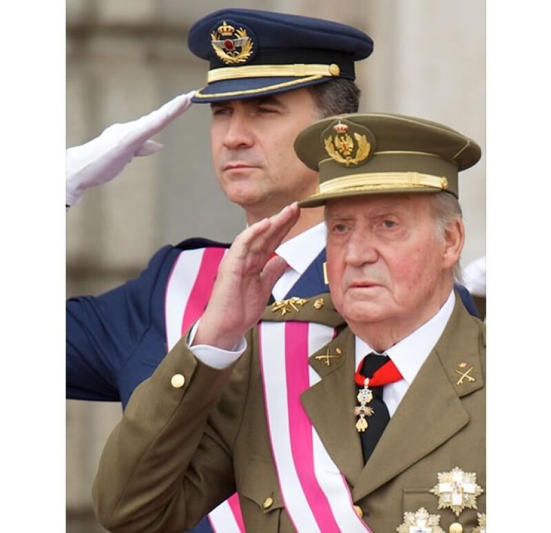 Felipe se convertirá en Rey de España en pocos días.