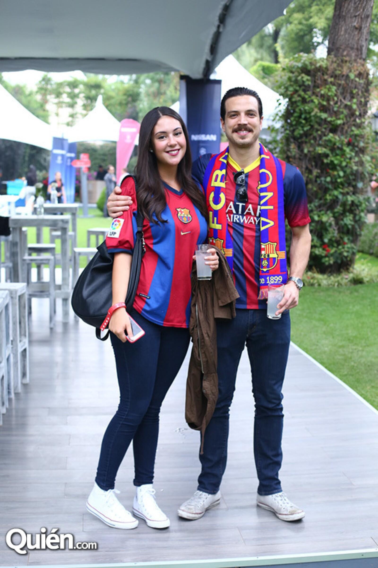 Natalia Caraza y Rodrigo Palacios