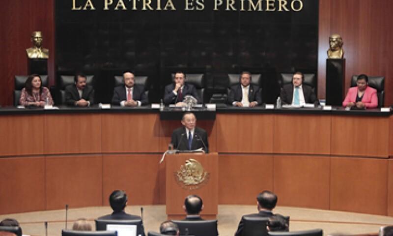 Los seis candidatos a ministros comparecieron en el Senado. (Foto: Cuartoscuro)