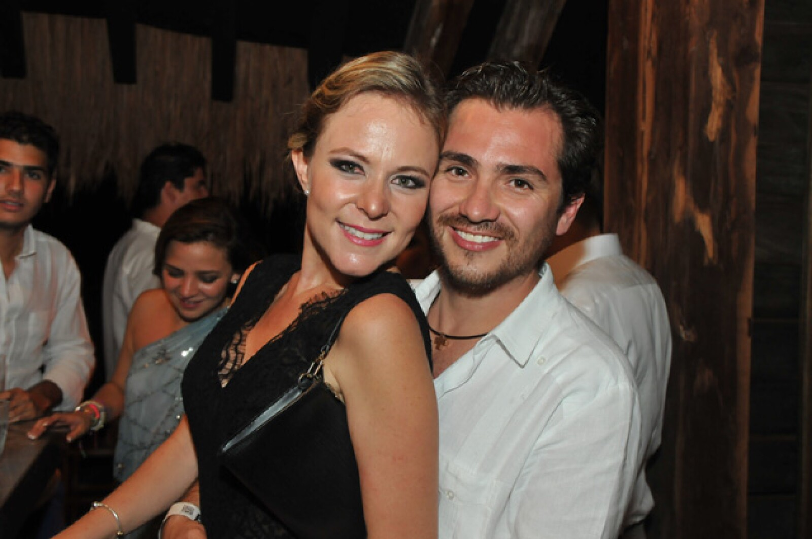 Ulrika Fichtl y Marco Mariles.