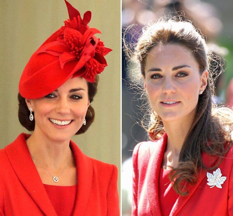 Tanto los accesorios como el peinado fueron distintos. ¿Cuál te gusta más?