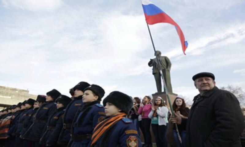 Como parte de las sanciones, los cruceros europeos ya no podrán hacer escala en puertos de la península de Crimea. (Foto: AFP )