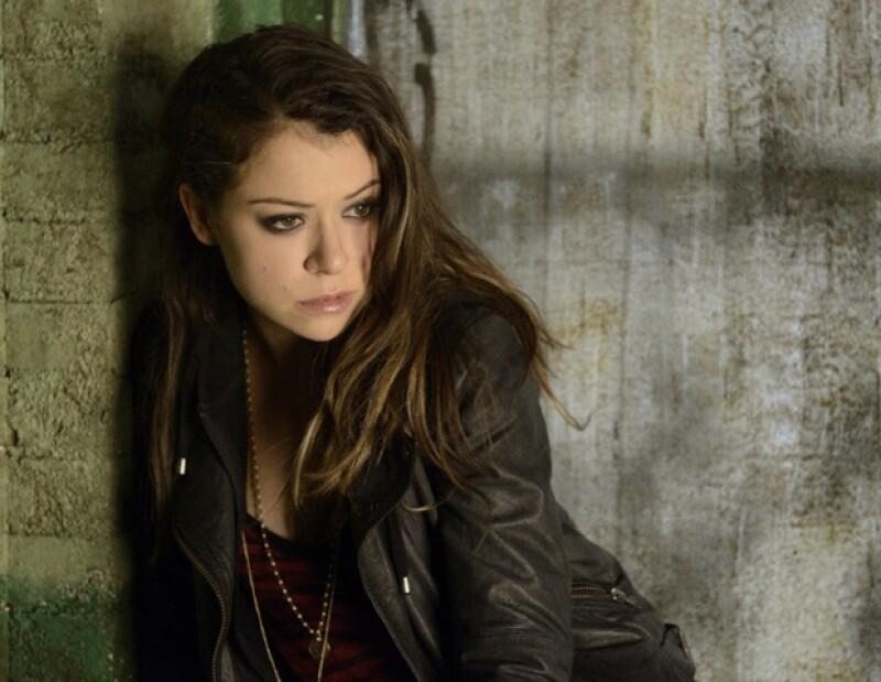 Tatiana Maslany como Sarah, una de las clones en Orphan Black.