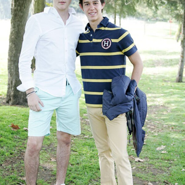 Ricardo Ortega y Juan Pablo Alarcón