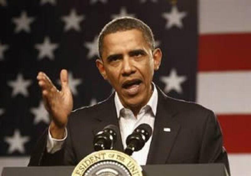El presidente de EU busca reducir el alto desempleo que enfrenta el país a raíz de la recesión. (Foto: Reuters)