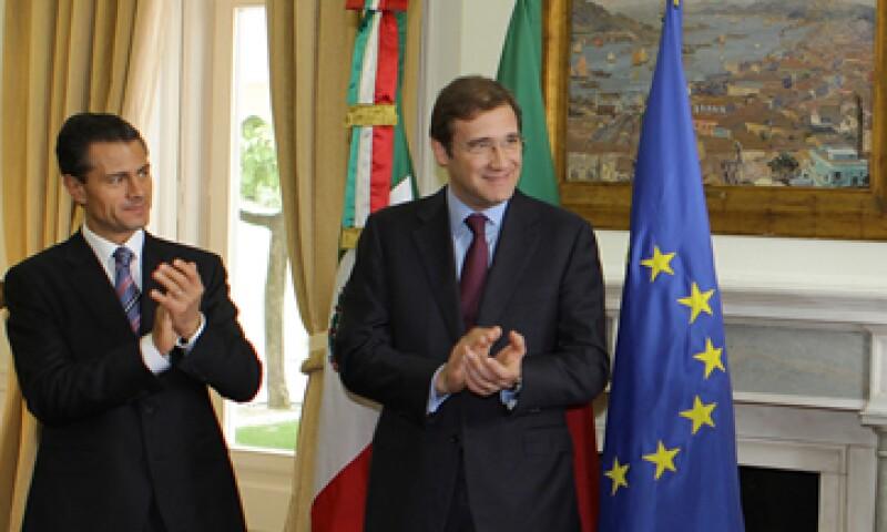 En el marco de la visita de Enrique Peña Nieto a Protugal, también se firmó un acuerdo en materia turística.  (Foto: Notimex)