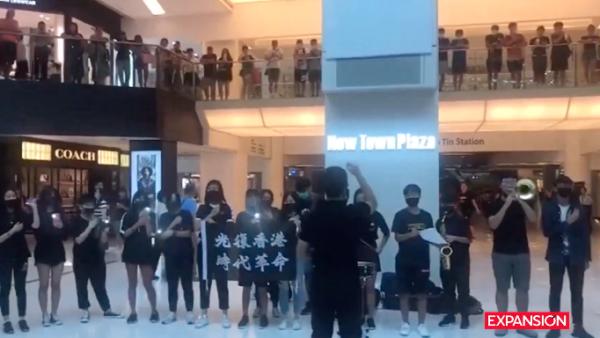Glory to Hong Kong', el himno que acompaña las protestas pacíficas contra China