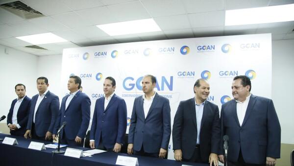 Gobernadores del PAN