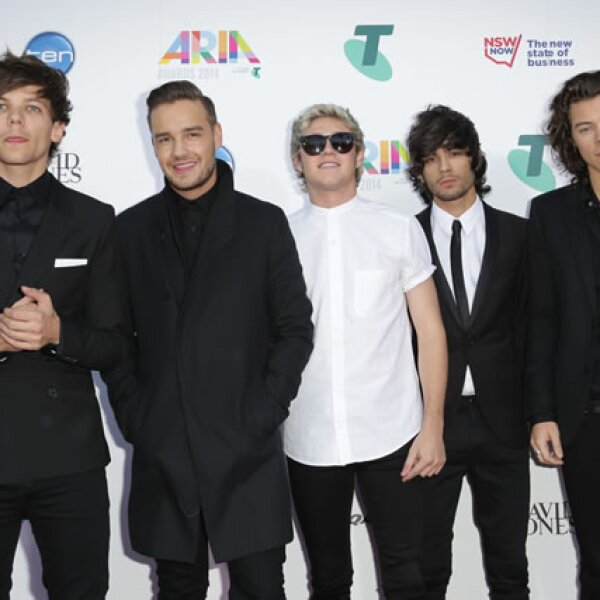 En segundo lugar aparecen los chicos de One Direction, quienes durante el último año generaron 75 millones de dólares con su disco, Midnight Memories.
