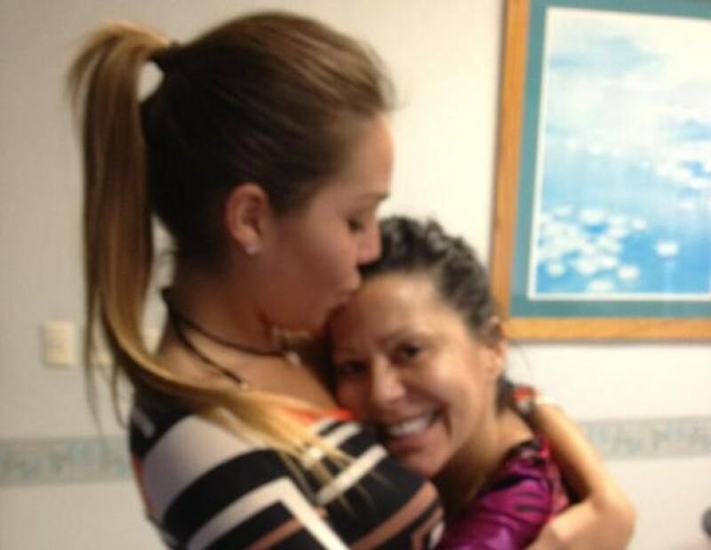 La cantante compartió algunas fotos en las que aparece con su hija y que muestran la estrecha relación que tienen.