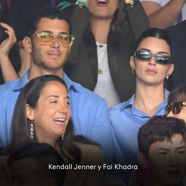 Kendall Jenner y Fai Khadra