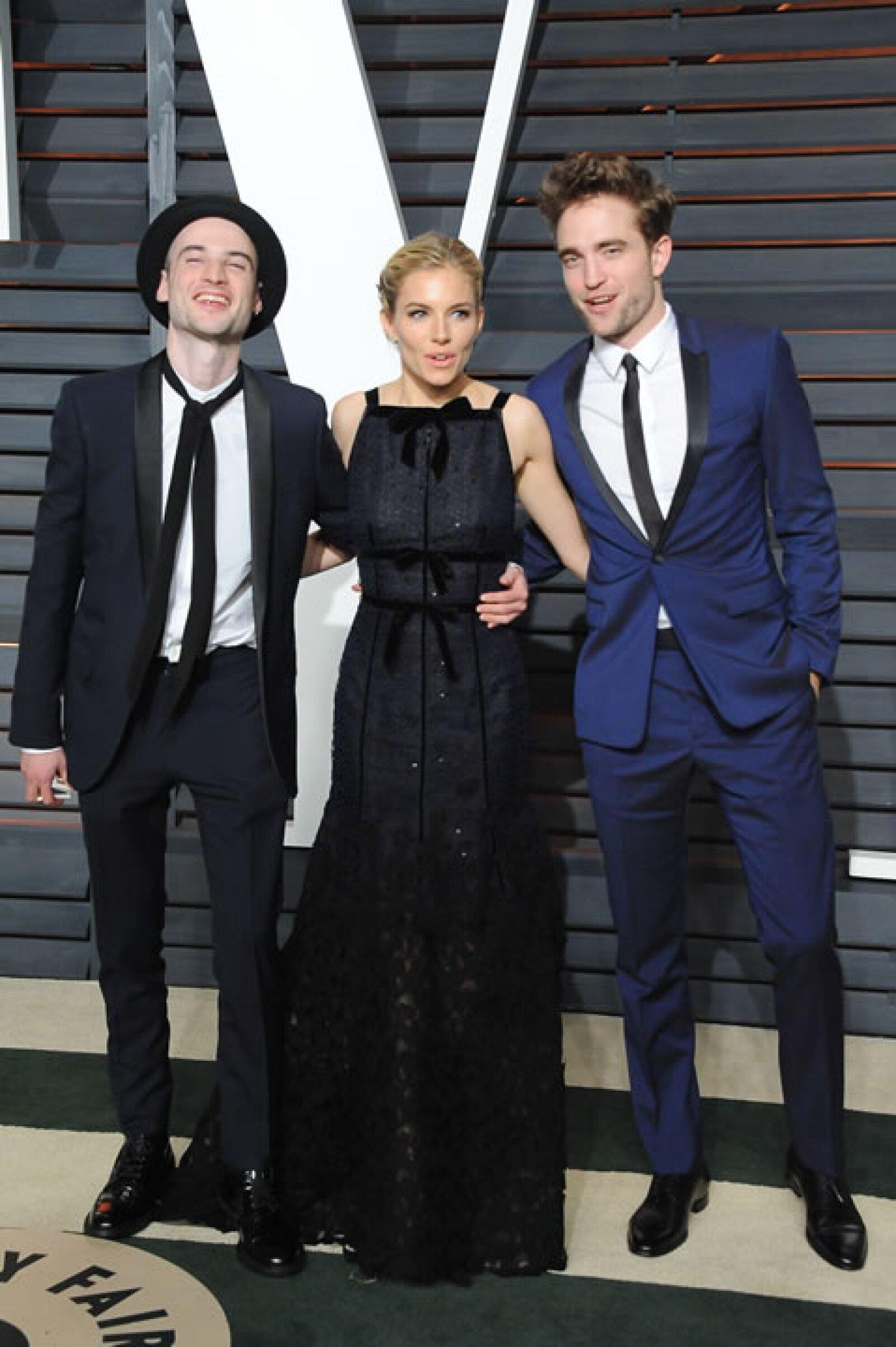 Tom Sturridge, Sienna Miller y Robert Pattinson