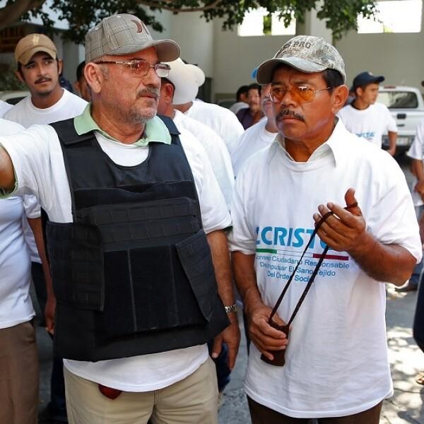 Hipólito Mora, uno de los líderes de autodefensas