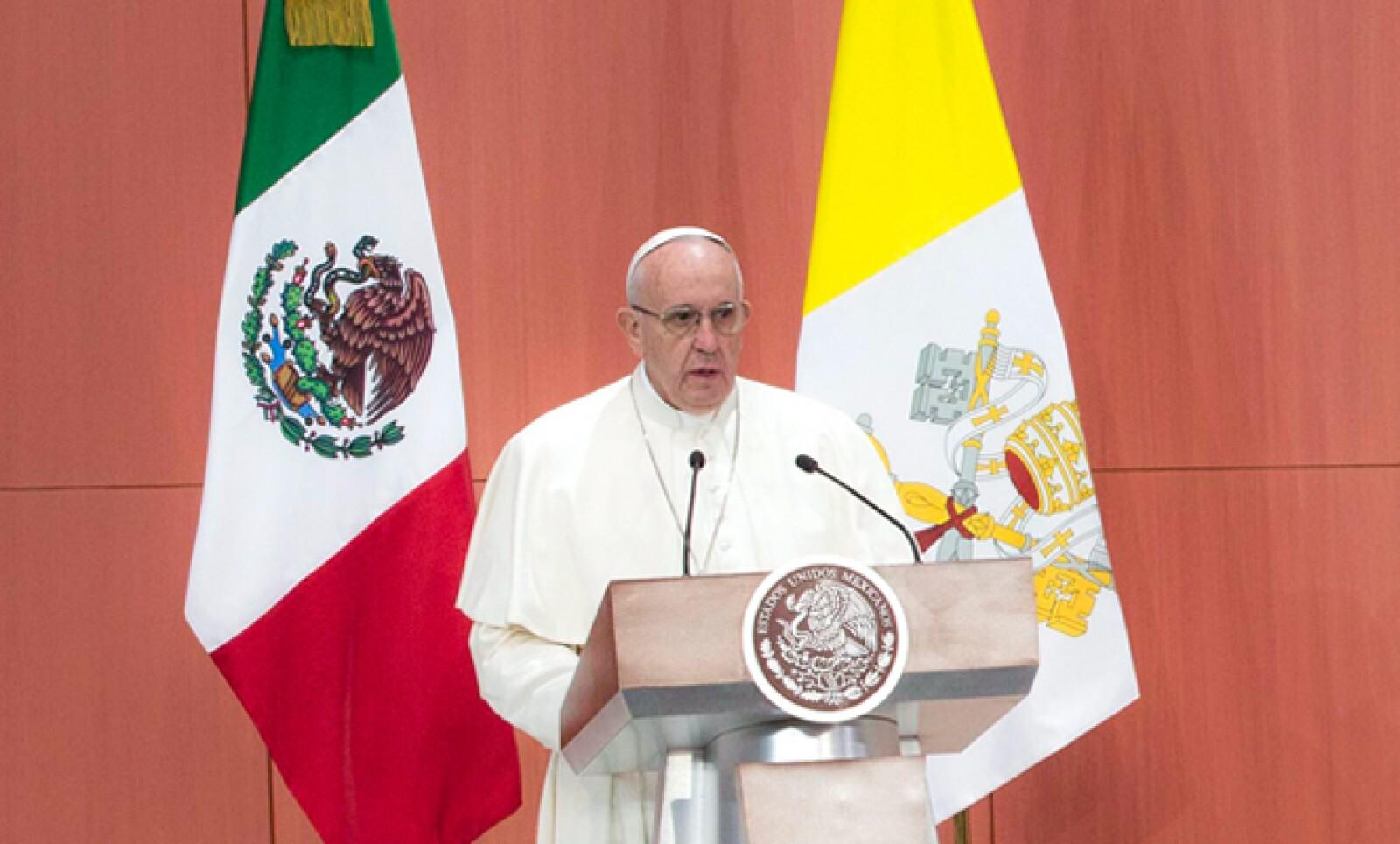 Francisco advirtió que el egoísmo sobrepuesto al bien común lleva a corrupción.