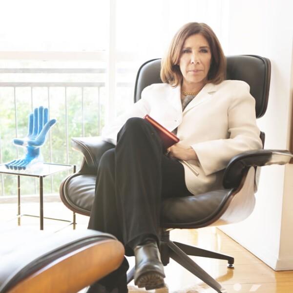Sabina Berman, periodista y escritora. Su excepcional pluma volvió a la pantalla grande con Gloria.
