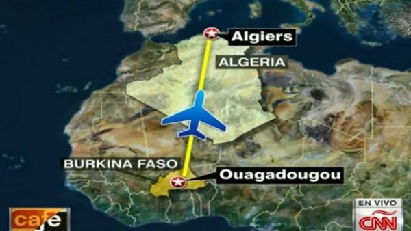 Un funcionario de aviación argelino confirmó que el vuelo que había desaparecido del radar finalmente se estrelló en Mali.