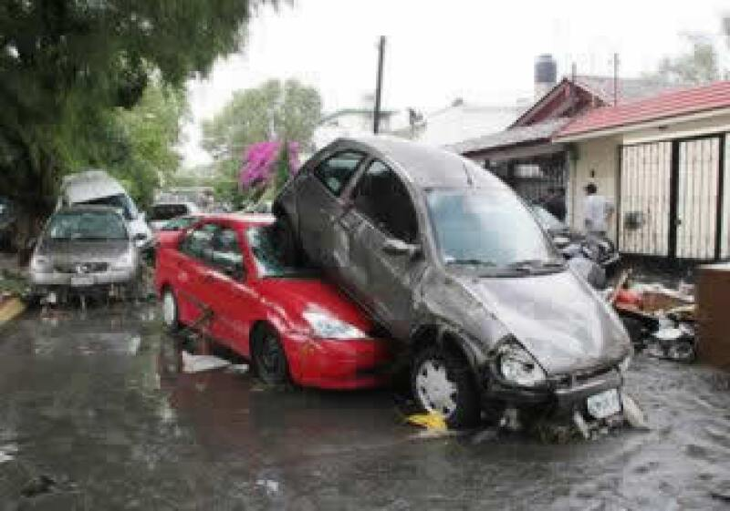 La inundación de una Colonia del Edomex provoca más indemnizaciones que en Villahermosa, Tabasco en 2007. (Foto: Notimex)