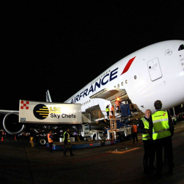 La llegada y posterior salida de la aeronave no interrumpirá ninguna operación en el AICM.