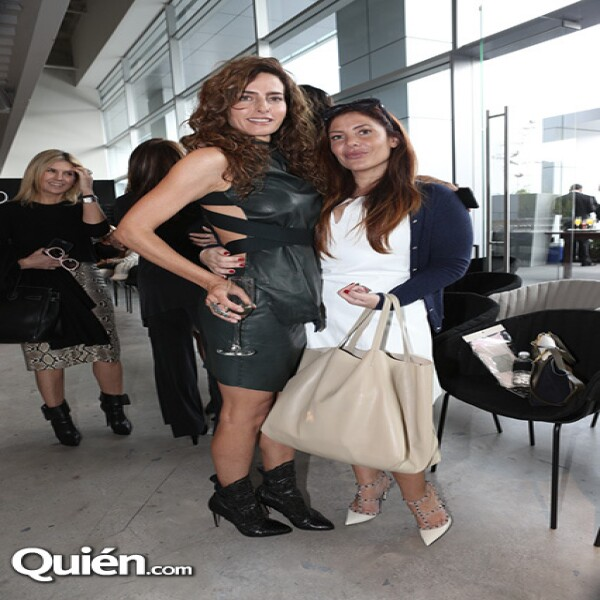 Paola Saad y Ximena Moctezuma