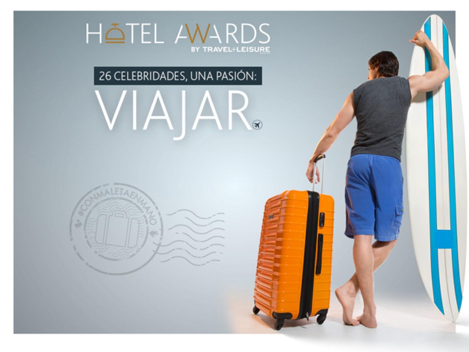 ¿Te animarías a tomar unas clases con este actor mexicano? Hotel Awards te espera con grandes sorpresas. #ConMaletaEnMano