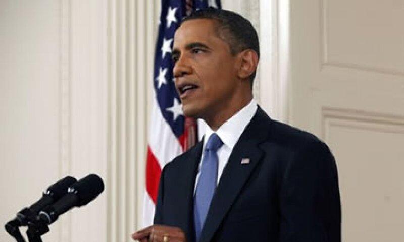 Obama llamó al Congreso a tomar medidas para reducir el déficit. (Foto: Reuters)
