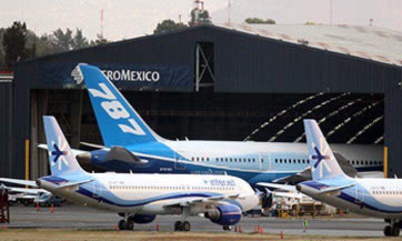 El año pasado el AICM tuvo un incremento de 3.5% en el número de pasajeros atendidos, indicó la CNT. (Foto: Notimex)