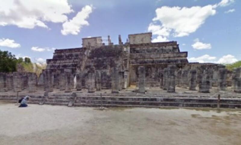 Chichén Itzá es reconocido históricamente por ser un sitio sagrado de la cultura maya. (Foto: Street View )