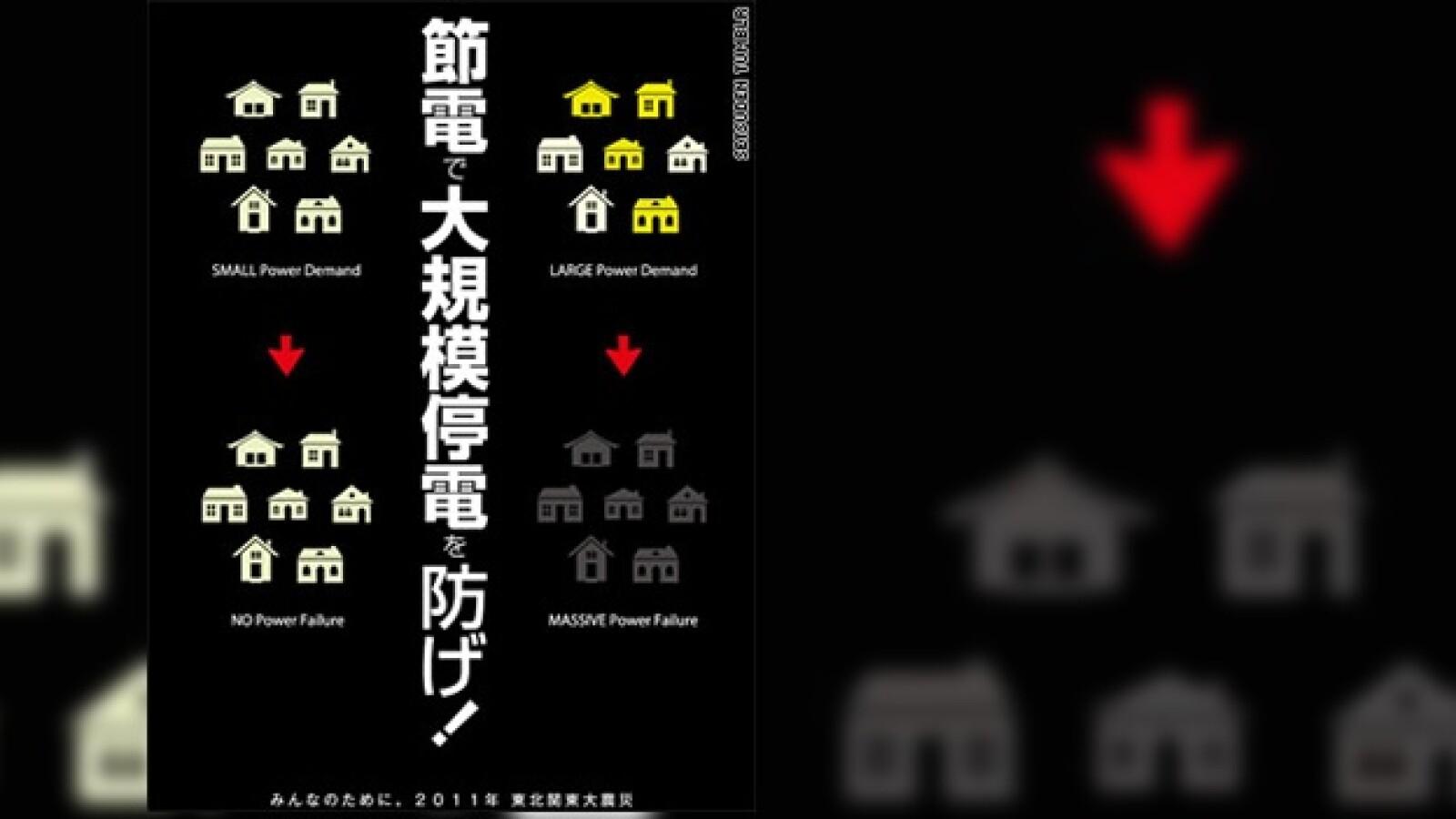 japón ahorro energético poster 05