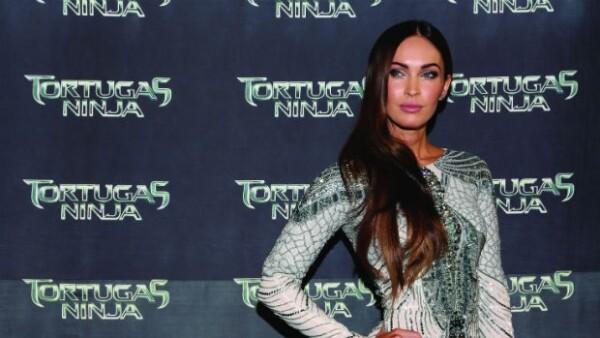 Megan Fox visitó México causando revuelo por su gran belleza.