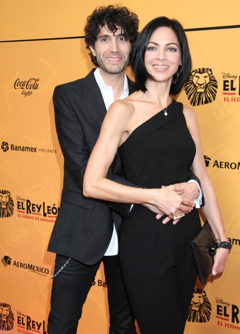 Celina del Villar y su esposo Benny Ibarra.