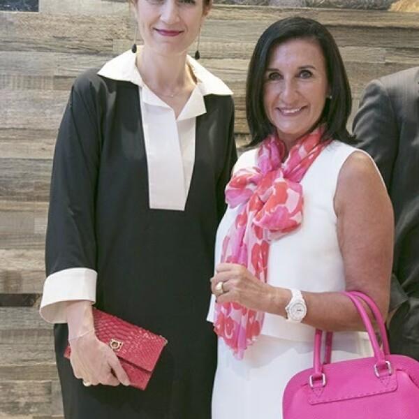 Corinne Ortega y Elena Villareal