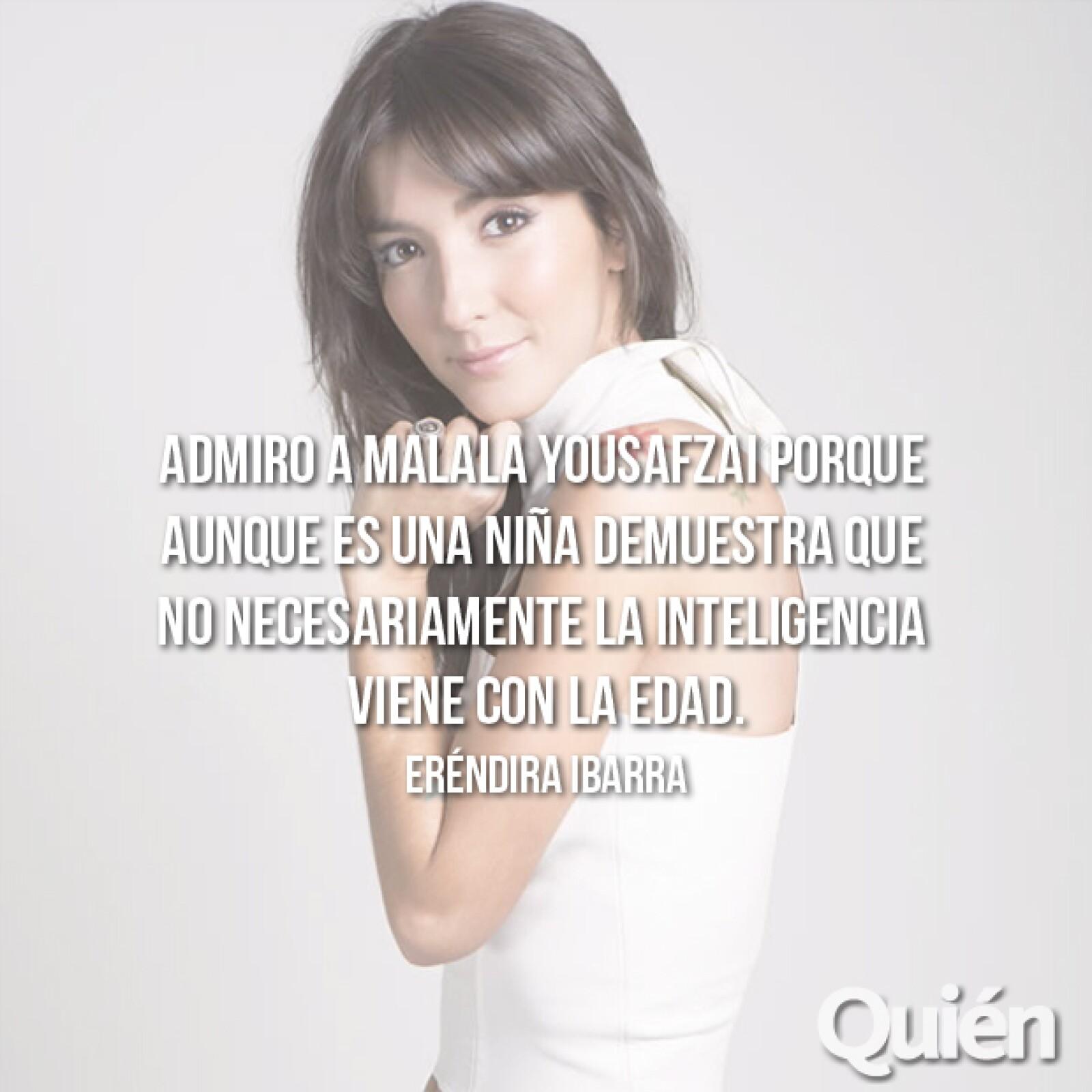 Eréndira Ibarra, actriz. Forma parte del elenco de la nueva serie de Netflix, Sense8, realizada por los hermanos Wachowski.