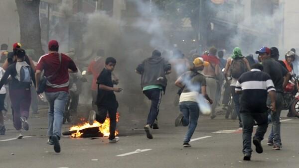Venezuela enfrentamientos