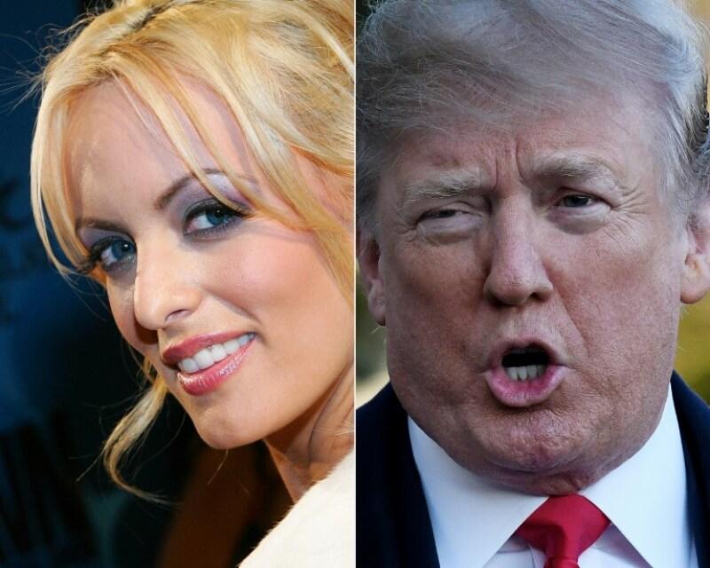 Stormy y Trump