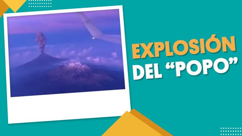 #EnSegundos ⏩ Parece que al #Popocatépetl tampoco le gustan los lunes...