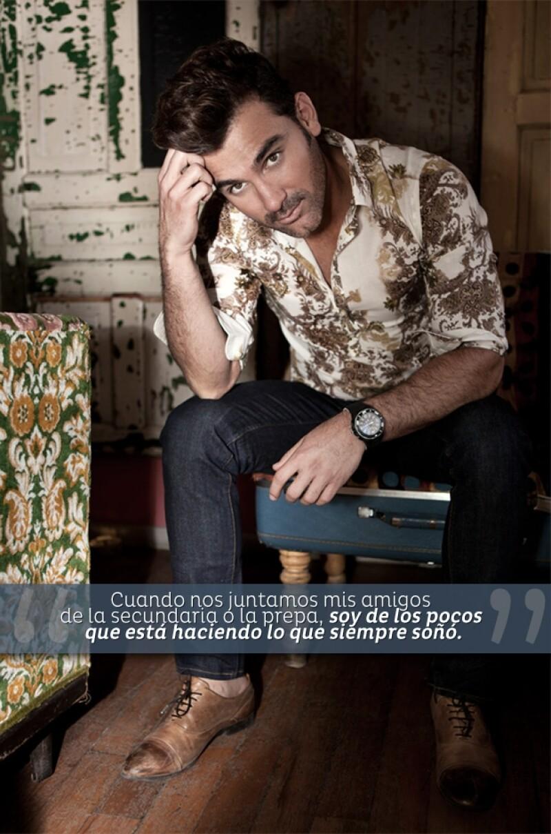 Mauricio Mejía posa en Sabor Amor para Quién.com