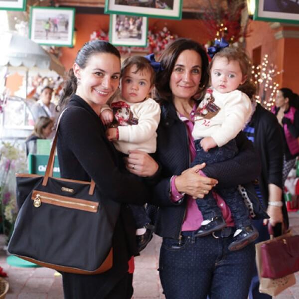 Ana Paula Sánchez,Ana Belén Amado,Cristina Alegría y María José Amado
