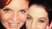 Sarah Ferguson y Lisa Marie Presley