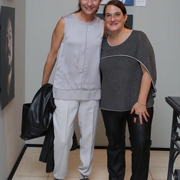 Odille Hainaut y Andrea Cesarmann