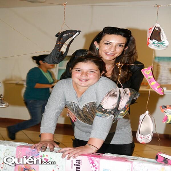 Celia Daniel y Emilia Mizrahi en Zona Maco.