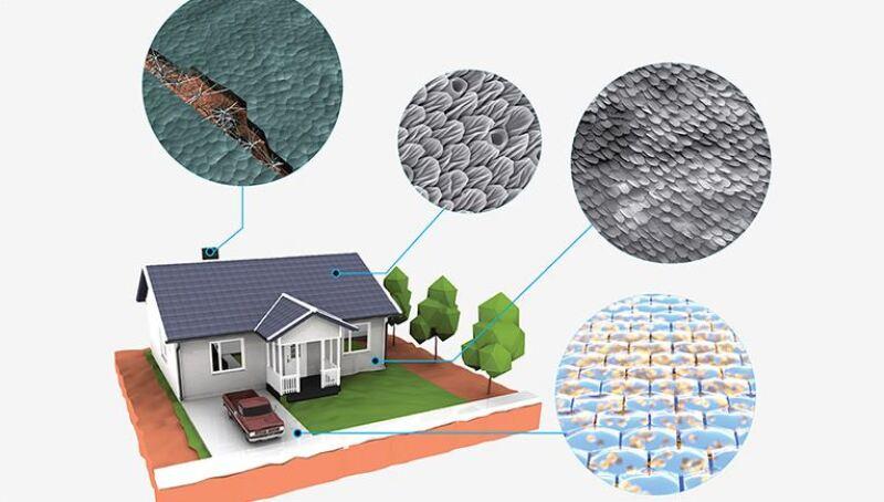 Las casas del futuro se repararán a sí mismas