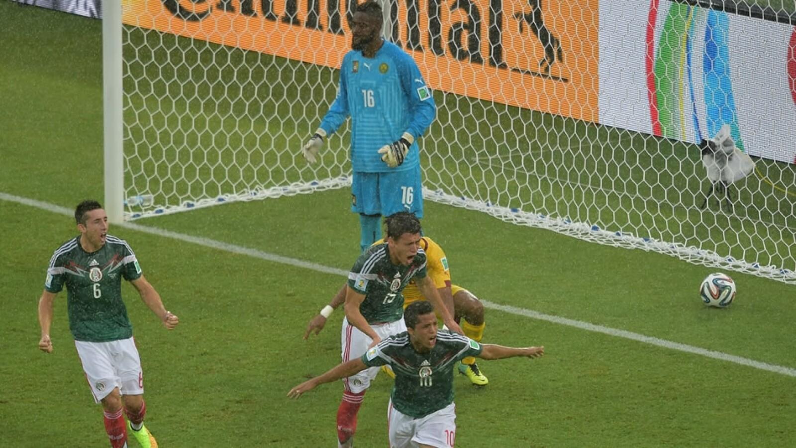México vs Camerún