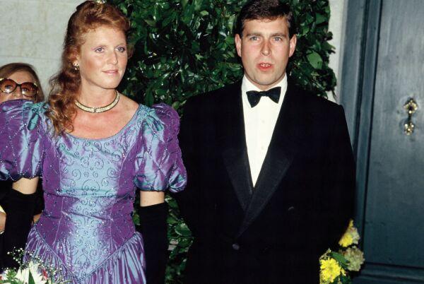 Sarah Ferguson y el principe And