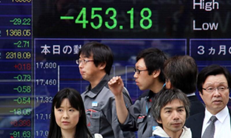 El PIB de Japón se contrajo en 1.6% anual el tercer trimestre. (Foto: AFP )